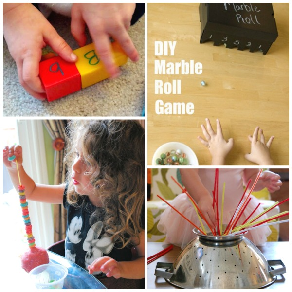 FINE MOTOR ACTIVITIES FOR KIDS (35 simple ideas!) #finemotoractivitiesforkids  #finemotoractivities
