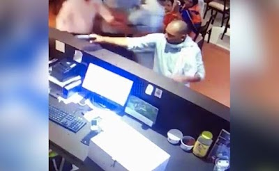 Watch: Man Walks Up To Cash Counter, Fires At Restaurant Owner In India