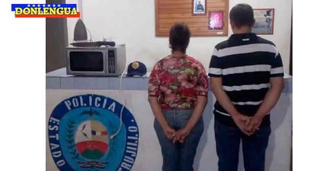 Pareja detenida por el robo de un microondas y una plancha a punta de cuchillo en Pampanito