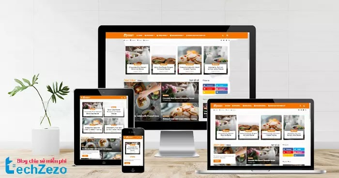 Foodify v1.0 Blogger Template - Cooking Blogger Template