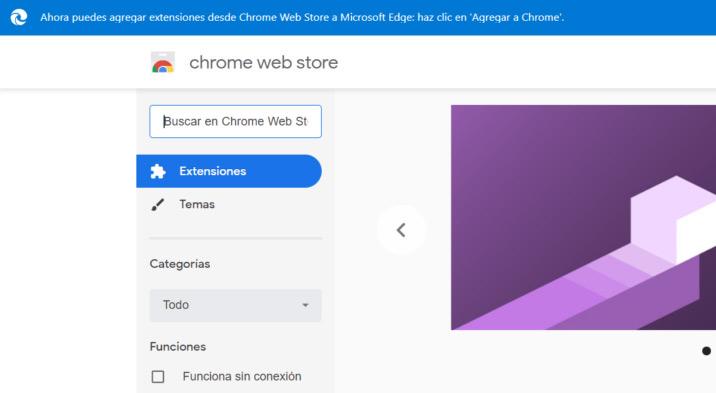 Microsoft Edge ضد Google Chrome اضافات