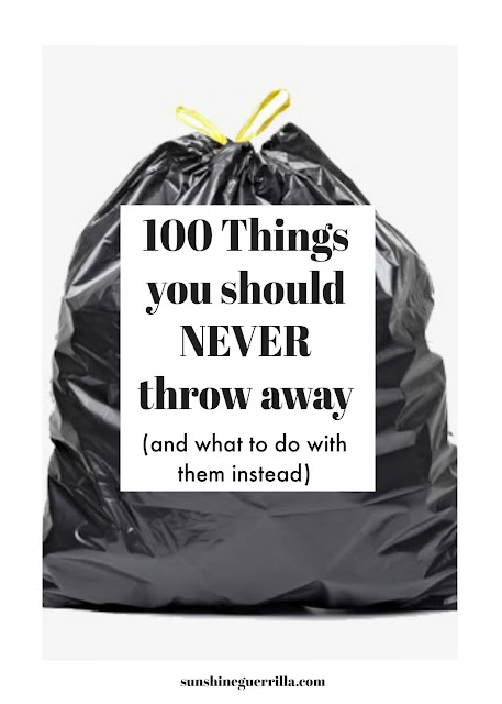 100 Things You Should NEVER Throw in the Garbage (And What to Do With Them Instead)