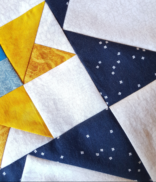 Scrappy star project to come | DevotedQuilter.com