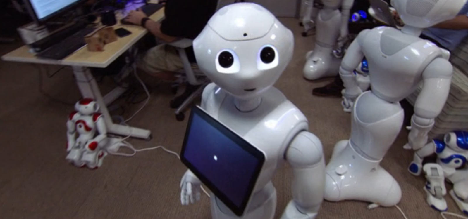 IBM Pepper robot with Watson AI