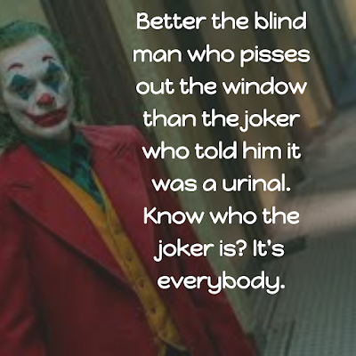 joker 2019: better the blind man