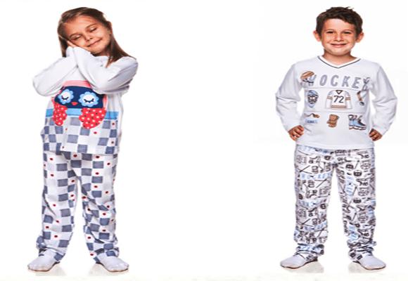 Preguiça-Pijamas-infantis