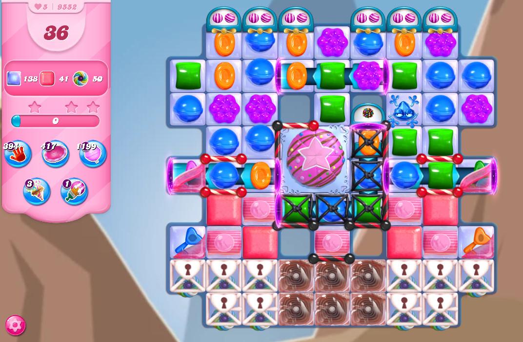 Candy Crush Saga level 9552