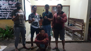 Tim Opsnal Brimob Polda NTB Amankan Tersangka Pencurian Ternak di Kecamatan Sape