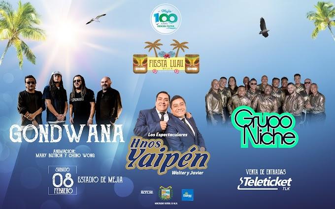 Fiesta LUAU, Mejía 2020 - 08 febrero