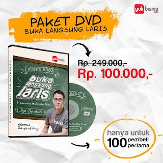 DVD Buka Langsung Laris