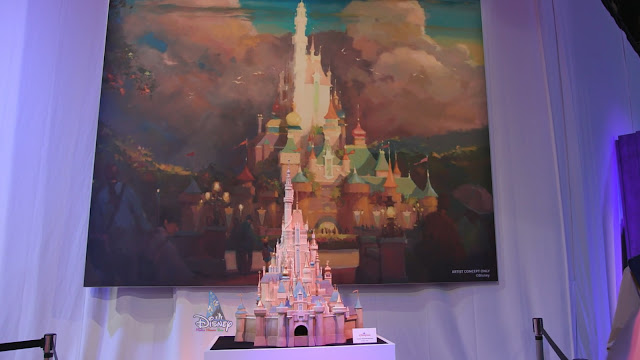Disney, HKDL, Hong Kong Disneyland, 迪士尼, 香港迪士尼樂園, WDI, Walt Disney Imagineering, 華特迪士尼幻想工程, 奇妙夢想城堡, Castle of Magical Dreams, D23 Expo 2019, D23 Expo, HKDL Castle, Construction Update
