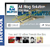 How to add fixed facebook like box in the blogger Right Scroll