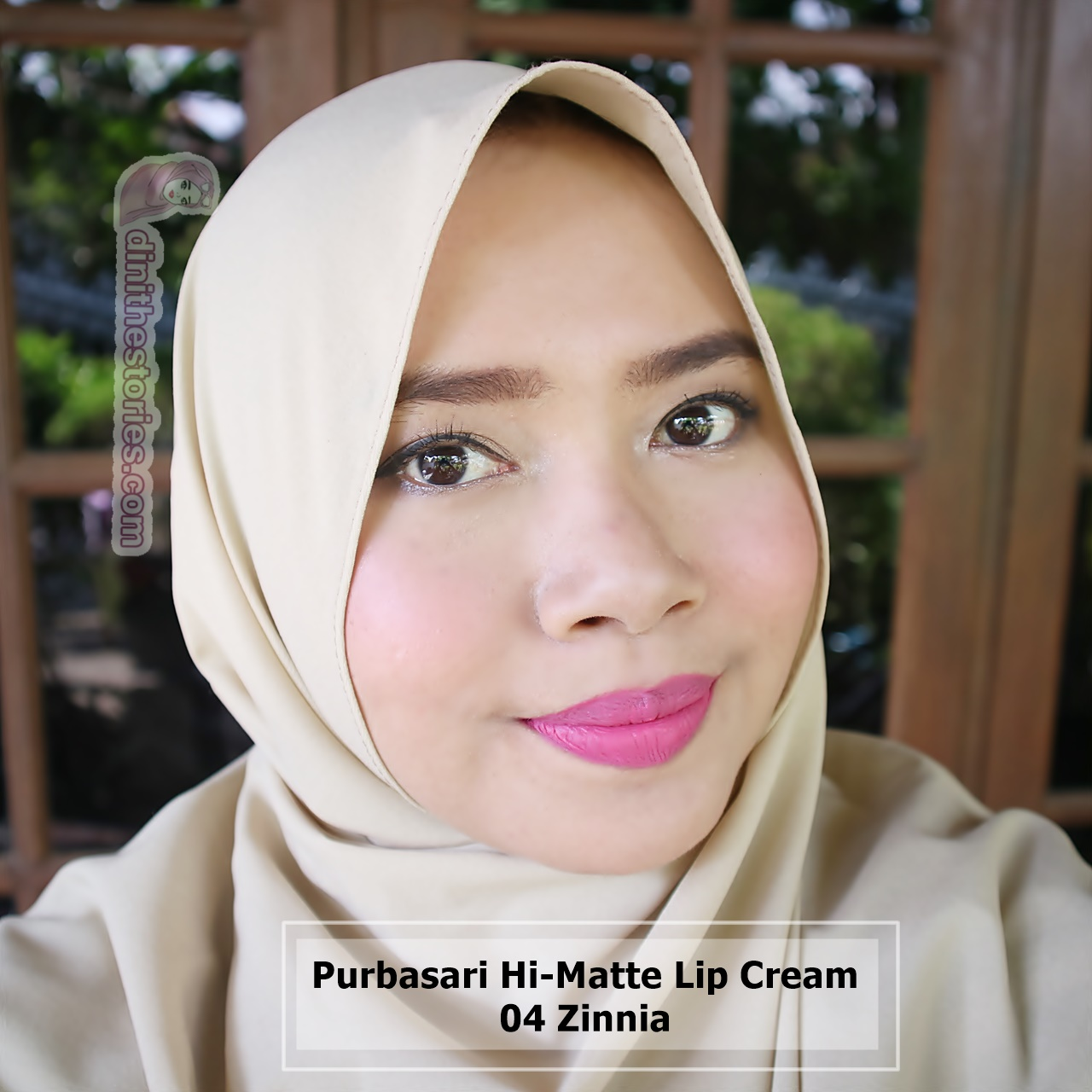 Purbasari Hi Matte Lip Cream Review And Swatch All Shades Dini The 04 Zinnia