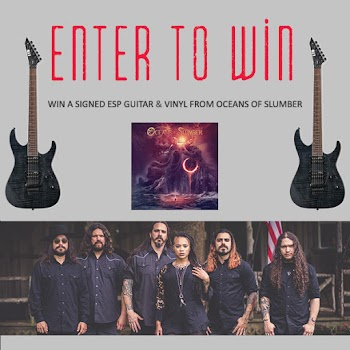 Enter To Win a ESP M-200FM Guitar and signed Album ( Worth Over : +$500)