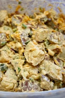 Southwest Potato Salad: Savory Sweet and Satisfying