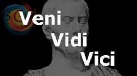 """Julius Caesar """"Veni, Vidi, Vici"""""""