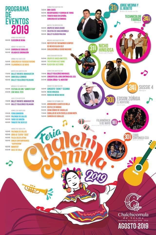 feria chalchicomula 2019