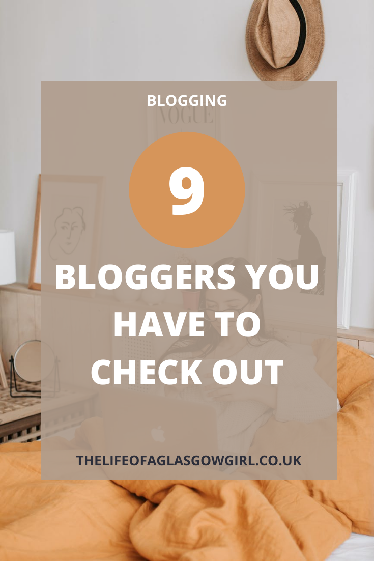 Pinterest image for 9 Bloggers you HAVE to check out - Looking for binge worthy bloggers?  Then you have to check out these 9 bloggers.