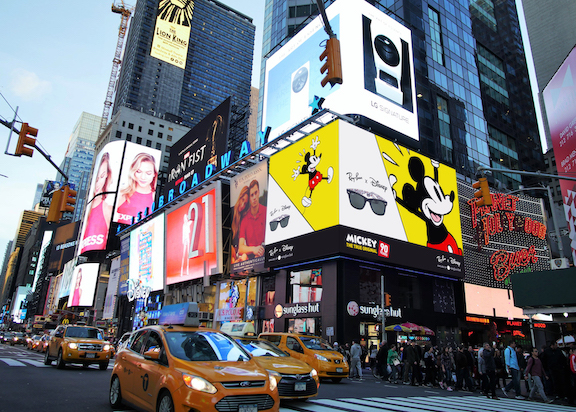 Leftchannel Creates Experiential Animation for Sunglass Hut to Support Mickey Mouse s 90th Birthday Celebration