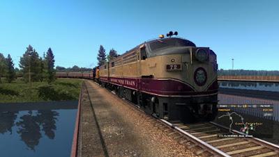 Improved Trains v3.3 for ETS2