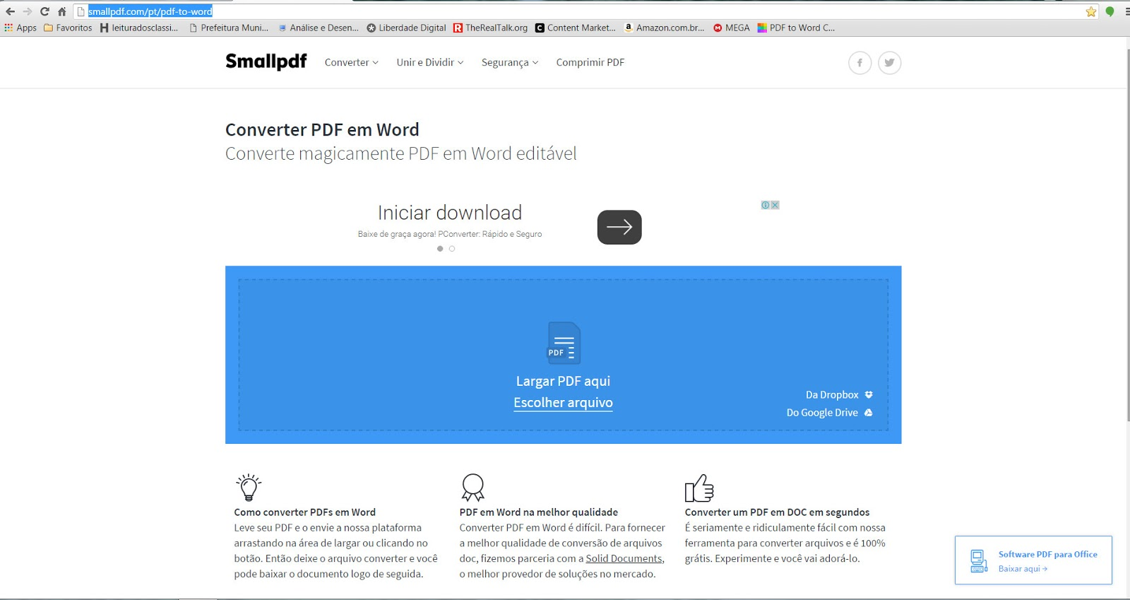 pdf converter para o word