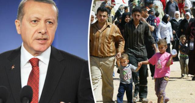 """Η """"ζώνη ασφαλείας"""" και τα παιχνίδια του Ερντογάν με τους Σύρους πρόσφυγες"""
