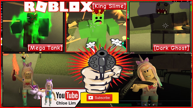 Roblox Zombie Attack Gameplay! - KILLING ZOMBIES WITH LOADS OF FRIENDS!