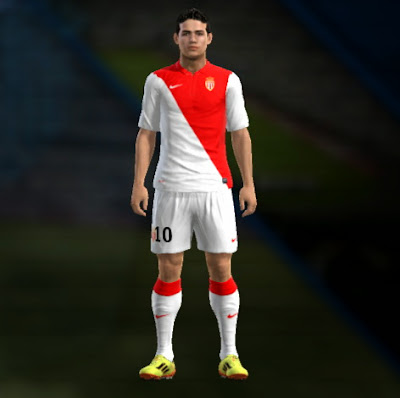 PES 2013 Monaco 14-15 Kits by Watanyou