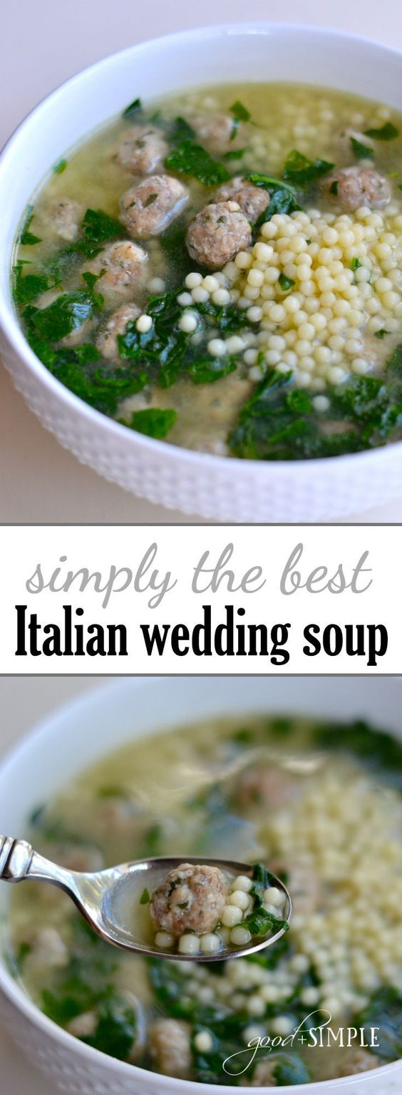 FAVORITE ITALIAN WEDDING SOUP
