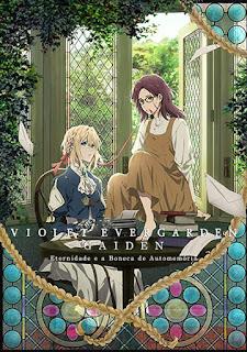 Violet Evergarden Gaiden: Eternidade e a Boneca de Automemória - HDRip Dual Áudio