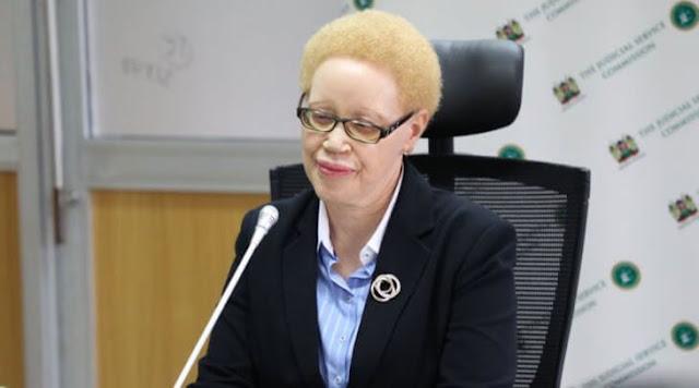 Justice Grace Mumbi Ngugi photo
