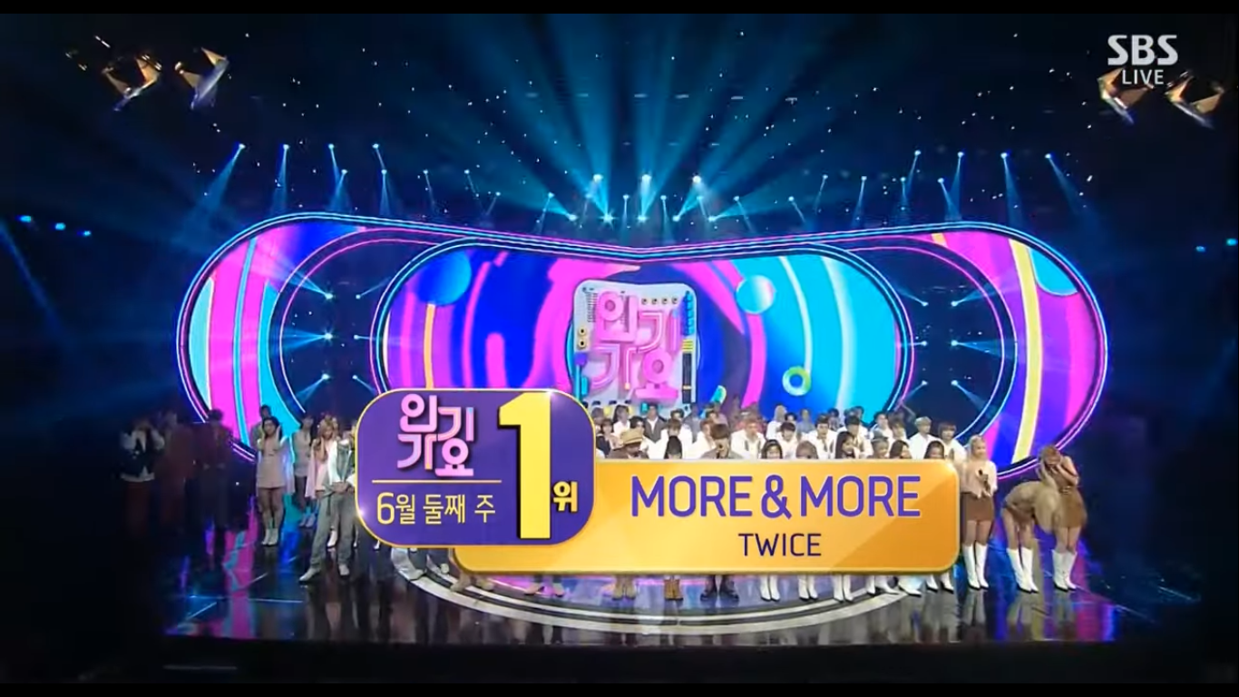 TWICE Takes Home The 5th Trophy With 'MORE & MORE' on Inkigayo