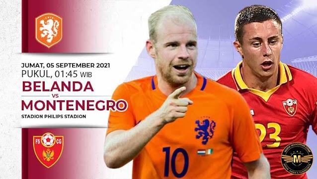 Prediksi Belanda Vs Montenegro
