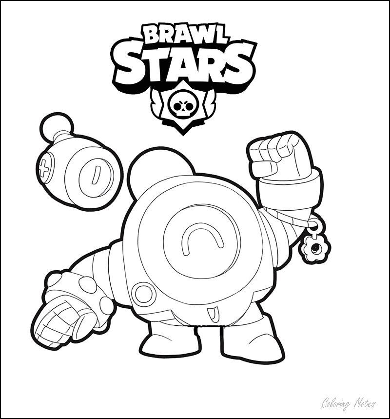 brawl stars coloring pages all characters printable free
