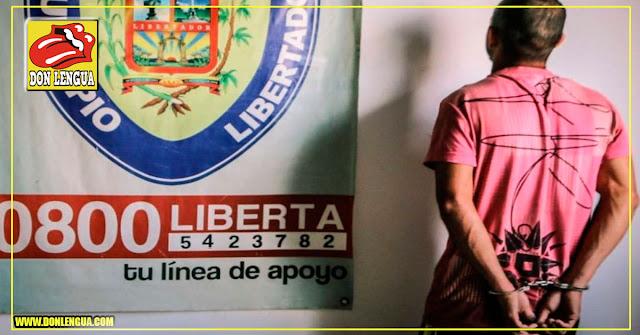 Atraparon a violador chavista que abusaba de su hijastra y sus 7 hermanitos en Carabobo