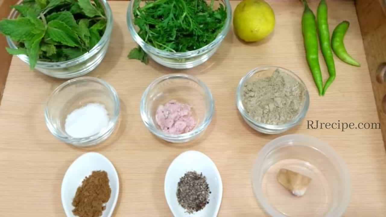 pani-puri-ingredients-for-tikha-pani