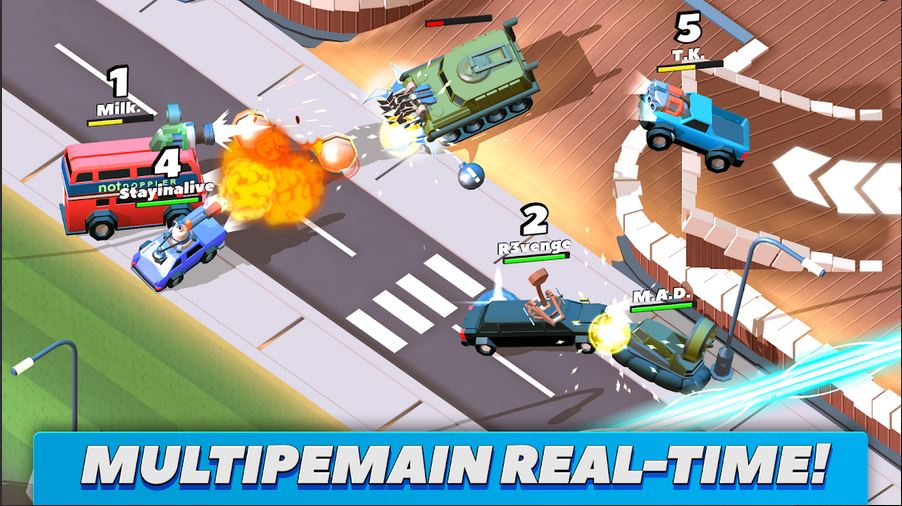 download  Crash of Cars Mod Apk [Unlimied Money/Gems/Coins] Terbaru 2020 1