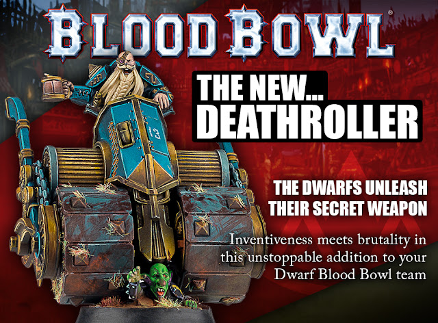 Forge World: New Blood Bowl Dwarf Deathroller