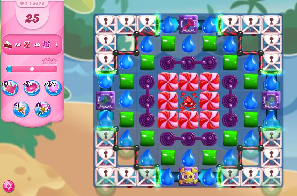 Candy Crush Saga level 9878