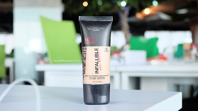 review Loreal Infallible Pro-Matte Foundation