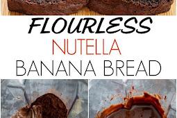 Flourless Nutella Banana Bread Recipe