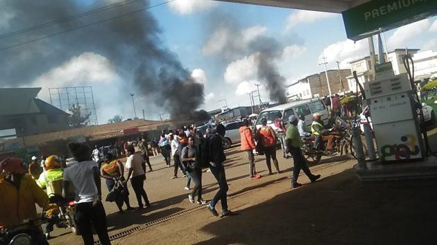 Muranga town chaos