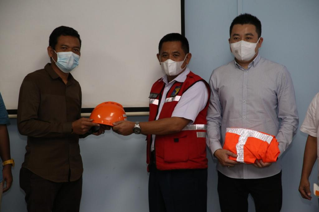 Proyek Revitalisasi Jaringan Listrik Terminal 1 Bandara Hang Nadim Batam Dimulai