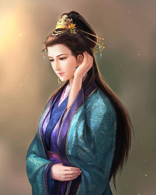 """""""ตู้ฮูหยิน"""" (Lady Du, Du Shi) จากเกมสามก๊ก"""