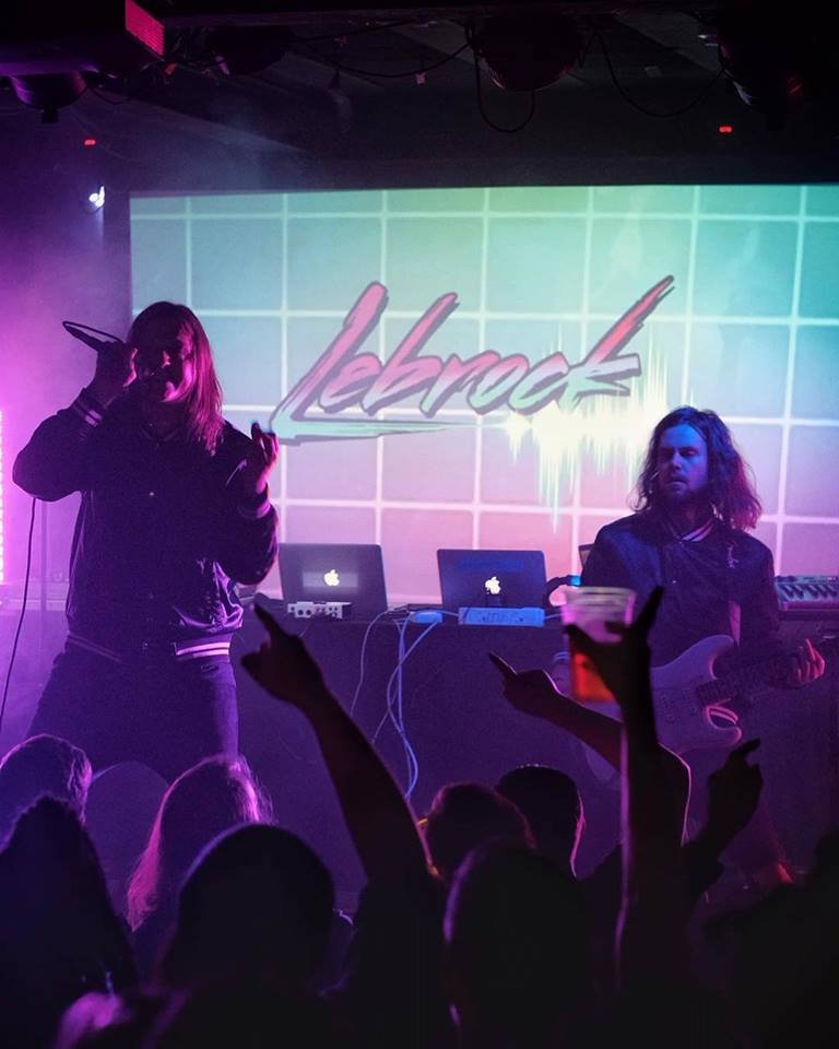 Palace of Rock: Synthwave heroes LeBrock release Takes All