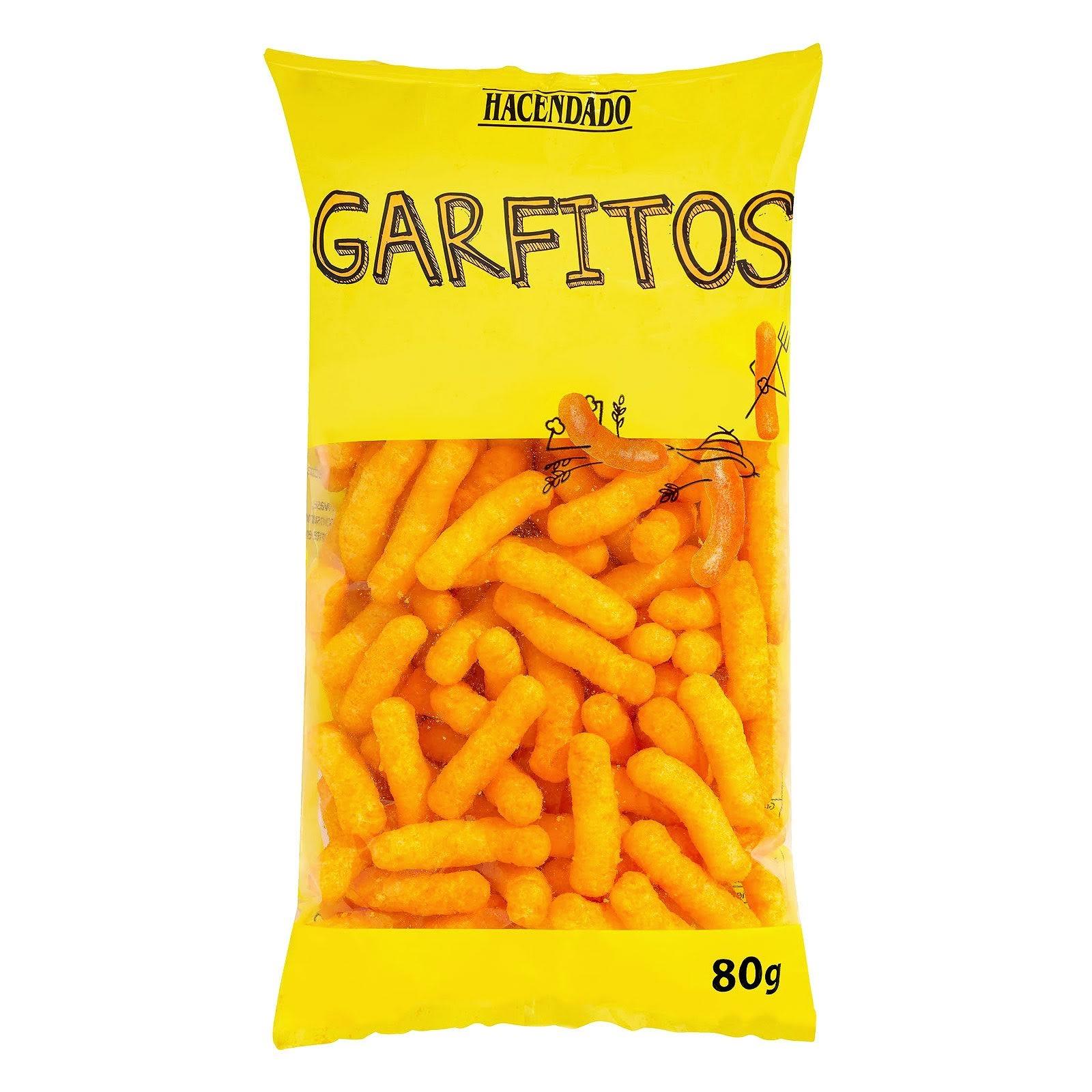 Garfitos de maíz sabor queso Hacendado