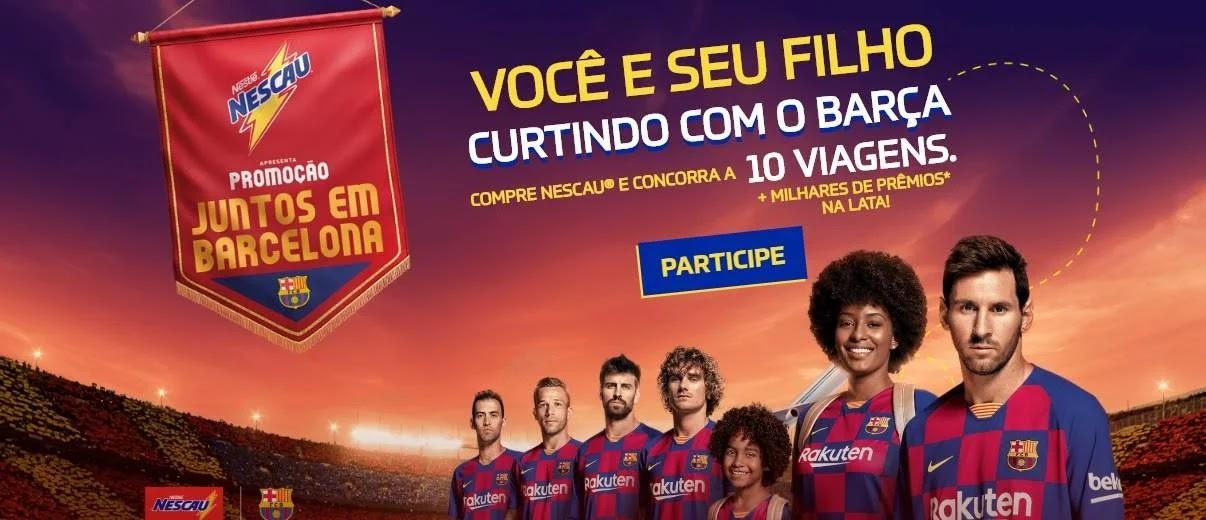 Nova Promoção Nescau 2020 Viagens Barcelona Conhecer Jogadores