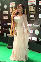 Prajna Actress in backless Cream Choli and transparent saree at IIFA Utsavam Awards 2017 0123.JPG