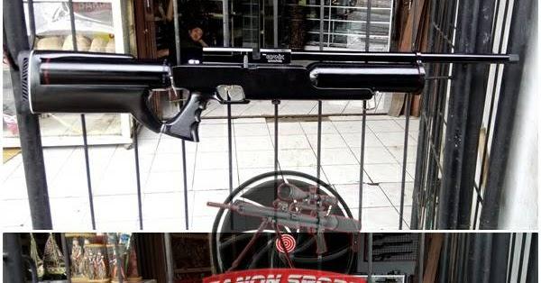 senapanahmadsniper Senapan Angin Gas Pcp Replika Evanix