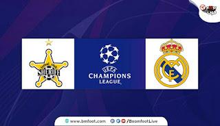 بث مباشر مباراة ريال مدريد ضد شيريف مباشرة اليوم في ظوري أبطال أوروبا